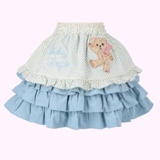 Shirley Temple - シャーリーテンプル 完売 クマ エプロンスカート 130 新品
