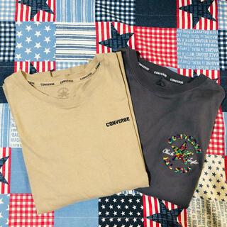 コンバース(CONVERSE)のお買い得 レディース コンバース2枚セット(Tシャツ(半袖/袖なし))