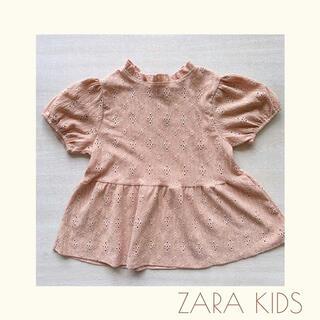 ZARA KIDS - SALE‼︎ZARA kids♡ペプラムトップス♡