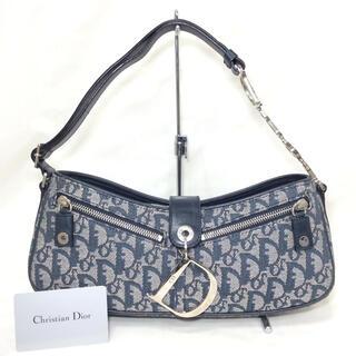 クリスチャンディオール(Christian Dior)の正規美品!クリスチャンディオール トロッター セミショルダーバッグ Diorロゴ(ショルダーバッグ)