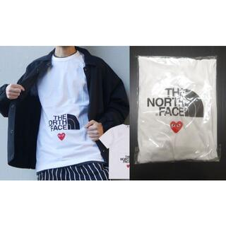 BLACK COMME des GARCONS - 新品 プレイ コムデギャルソン ノースフェイス Tシャツ XL