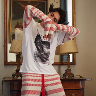 ロエベ(LOEWE)のLOEWE 20ss Tシャツ ホワイト XL アナグラム 片寄涼太着用(Tシャツ(半袖/袖なし))