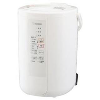 ゾウジルシ(象印)の未使用 象印 EE-RR50-WA スチーム式加湿器 3.0L ホワイト(加湿器/除湿機)