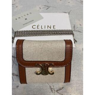 celine - ❣国内即発❀コインケース☀セリーヌ 財布 三つ折り 大人気☆ レディース