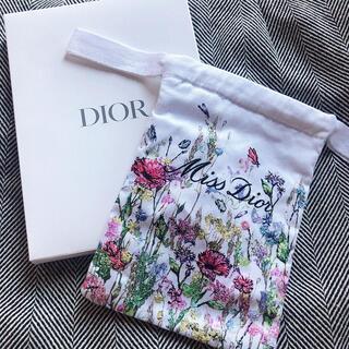 Dior - ディオール ミスディオール 巾着ポーチ ノベルティ