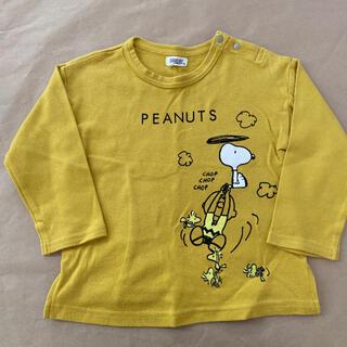 スヌーピー(SNOOPY)のロンT 長袖トップス 95サイズ  スヌーピー おまけ付き(Tシャツ/カットソー)