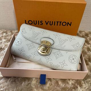 LOUIS VUITTON - 美品♡ ルイヴィトン ポルトフォイユ アメリア マヒナ 三つ折り 長財布