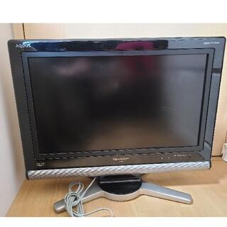 SHARP - SHARP テレビ 本体 リモコン、コード付き