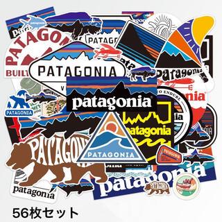 パタゴニア(patagonia)の★発送補強★パタゴニア アウトドア キャンプ 防水ステッカー計56枚セット (その他)