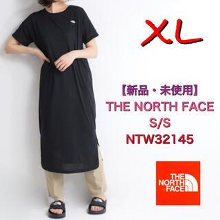 ザノースフェイス(THE NORTH FACE)の【新品・未使用】THE NORTH FACE  XL 黒 ワンピース (ひざ丈ワンピース)
