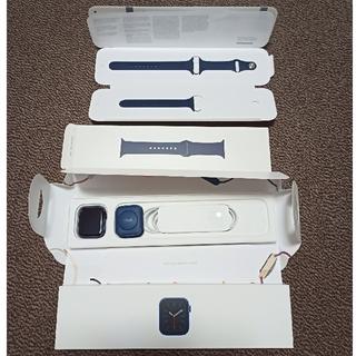 Apple Watch - 【中古美品】Applewatch series6 GPS ブルー