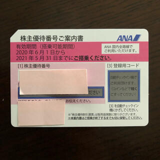 エーエヌエー(ゼンニッポンクウユ)(ANA(全日本空輸))のANA 全日空 株主優待券  1枚(その他)