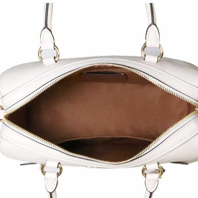 COACH(コーチ)の極美品 コーチ ホワイト ショルダーバッグ レディースのバッグ(ショルダーバッグ)の商品写真