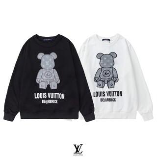 LOUIS VUITTON - 【特価限定】ⅬⅤ#HXC091306 ロゴ付き スウェット