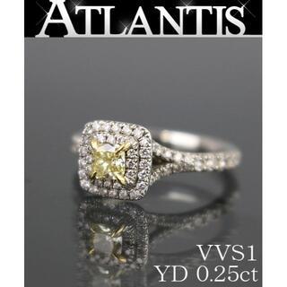 ティファニー(Tiffany & Co.)の銀座店 ティファニー ダイヤ リング Pt950 0.25ct VVS1 約6号(リング(指輪))
