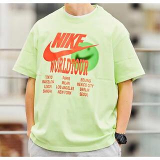 ナイキ(NIKE)の新品 希少カラー ナイキ ワールド ツアー  Tシャツ(Tシャツ/カットソー(半袖/袖なし))