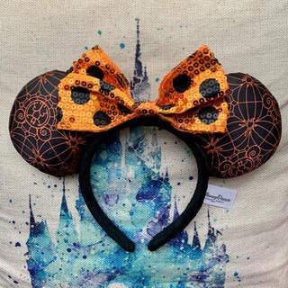 Disney - 【海外限定】ハロウィン カチューシャ 蜘蛛の巣