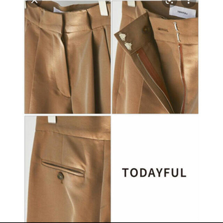 TODAYFUL - トゥデイフル Chambray Twill Trousers 36