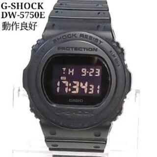 G-SHOCK - G-SHOCK ジーショック DW-5750E ブラック 動作良好 UJ57