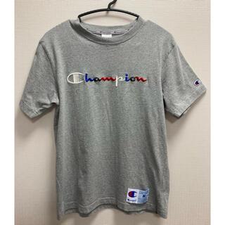 Champion - 【 チャンピオン(Champion) メンズ半袖Tシャツ/マルチカラーロゴ刺繍】