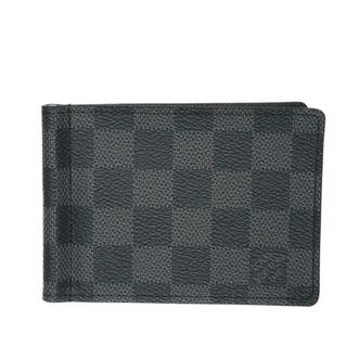 ルイヴィトン(LOUIS VUITTON)のルイヴィトン ポルトフォイユ・パンス マネークリップ カードケース N61000(折り財布)