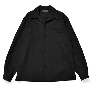 Saint Laurent - MINEDENIM Wool Denim Flannel Open Collar
