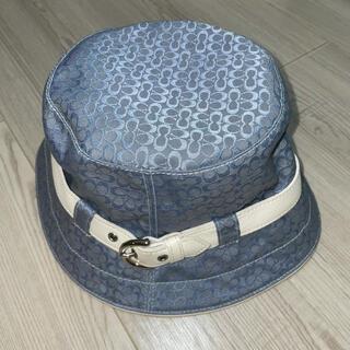 COACH - coach コーチ モノグラムバケットハット バケハ帽子