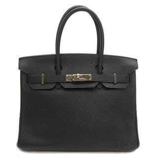 エルメス(Hermes)のエルメス  ハンドバッグ  バーキン30  □J刻印 ブラック(ハンドバッグ)