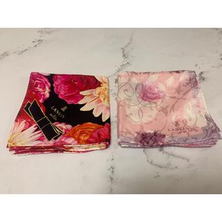 LANVIN - 【LANVIN】ハンカチ スカーフ