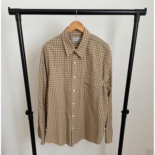 SUNSEA - gourmet jeans  Burberry shirt