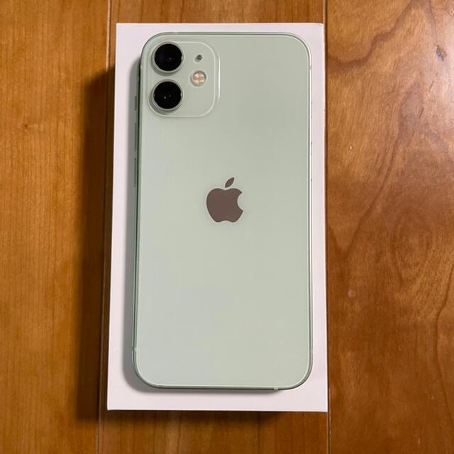 iPhone(アイフォーン)のすま様専用  iPhone12mini グリーン 128GB SIMフリー スマホ/家電/カメラのスマートフォン/携帯電話(スマートフォン本体)の商品写真