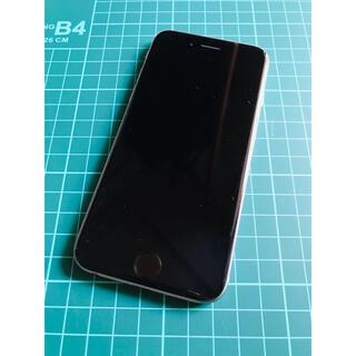 au - iPhone6  silver 16GB  au