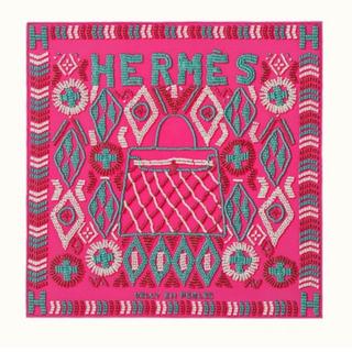 Hermes - ケリー アンペルル カレ45