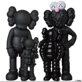 MEDICOM TOY - Kaws Family Black カウズ ファミリー ブラック