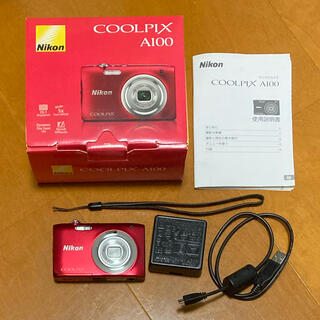 Nikon COOLPIX Affinity COOLPIX A100 RED