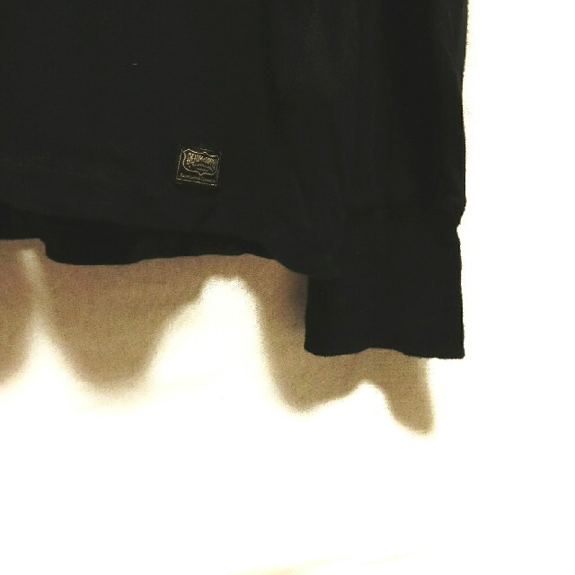 Denim & Supply Ralph Lauren(デニムアンドサプライラルフローレン)のラルフローレン デニム&サプライ ヘンリーネック 長袖Tシャツ ロンティー 黒  メンズのトップス(Tシャツ/カットソー(半袖/袖なし))の商品写真