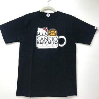 アベイシングエイプ(A BATHING APE)の未使用アベイシングエイプ BAPEGALLERY限定マイロ×キティサンリオコラボ(Tシャツ(半袖/袖なし))