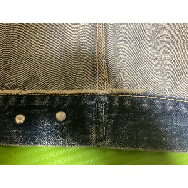 MMM様専用 リーバイス デニムジャケット Gジャン 片面Eタブ メンズのジャケット/アウター(Gジャン/デニムジャケット)の商品写真