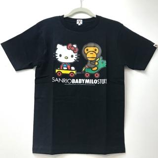 アベイシングエイプ(A BATHING APE)の未使用 アベイシングエイプ BAPE STORE限定マイロ×キティサンリオコラボ(Tシャツ(半袖/袖なし))