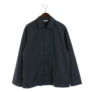 ユナイテッドアローズ(UNITED ARROWS)のユナイテッドアローズ オーバーシャツ カジュアル M グレー(シャツ)