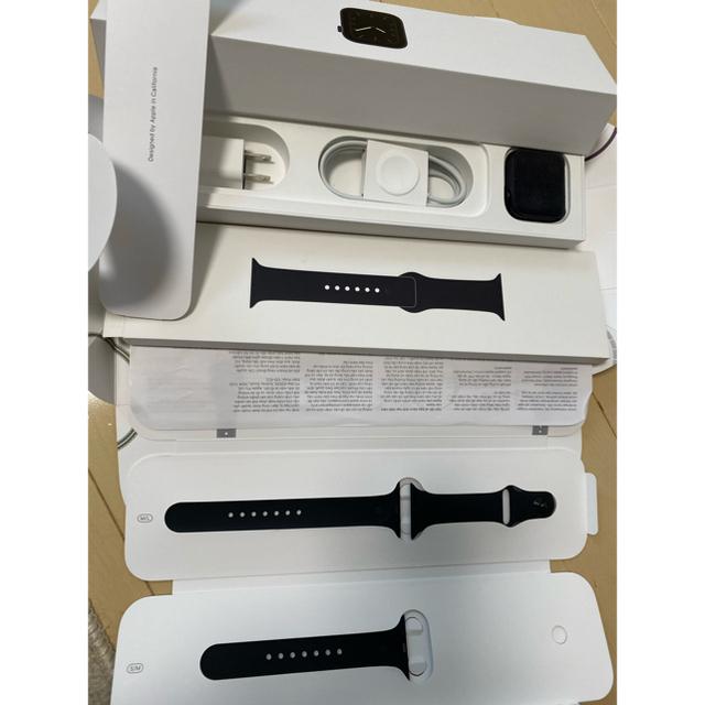 Apple Watch(アップルウォッチ)のApple Watch5 44mm space gray GPS メンズの時計(腕時計(デジタル))の商品写真