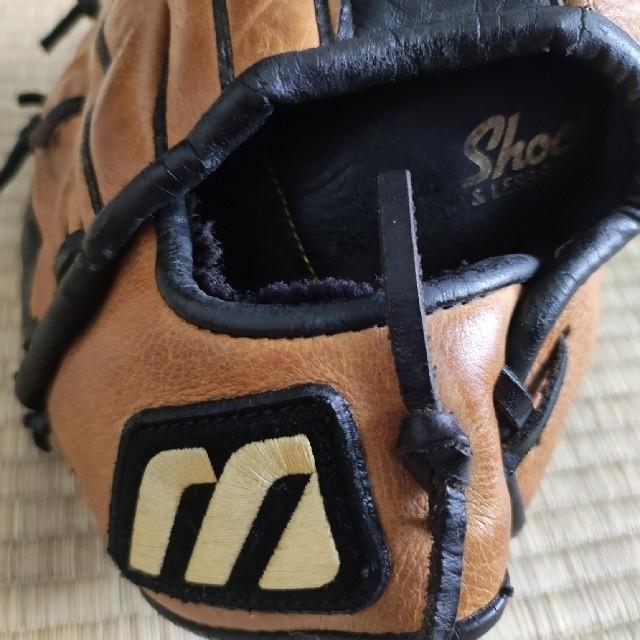MIZUNO(ミズノ)のミズノ USA 内野手用 グラブ チッパー・ジョーンズと同型? スポーツ/アウトドアの野球(グローブ)の商品写真