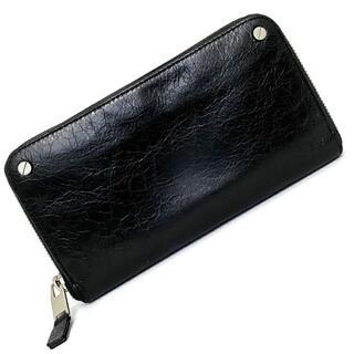 バレンシアガ(Balenciaga)のバレンシアガ ラウンドファスナー 長財布 ブラック(財布)