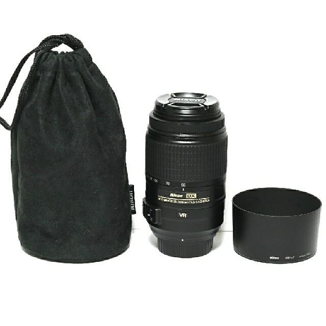 Nikon(ニコン)の【Nikon】美品★AF-S DX NIKKOR 55-300mm VR スマホ/家電/カメラのカメラ(レンズ(ズーム))の商品写真