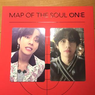 防弾少年団(BTS) - MAP OF THE SOUL ON:E V テテ トレカ DVD フォトブック