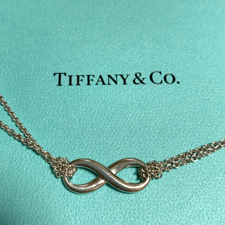 Tiffany & Co. - ティファニー インフィニティ ネックレス