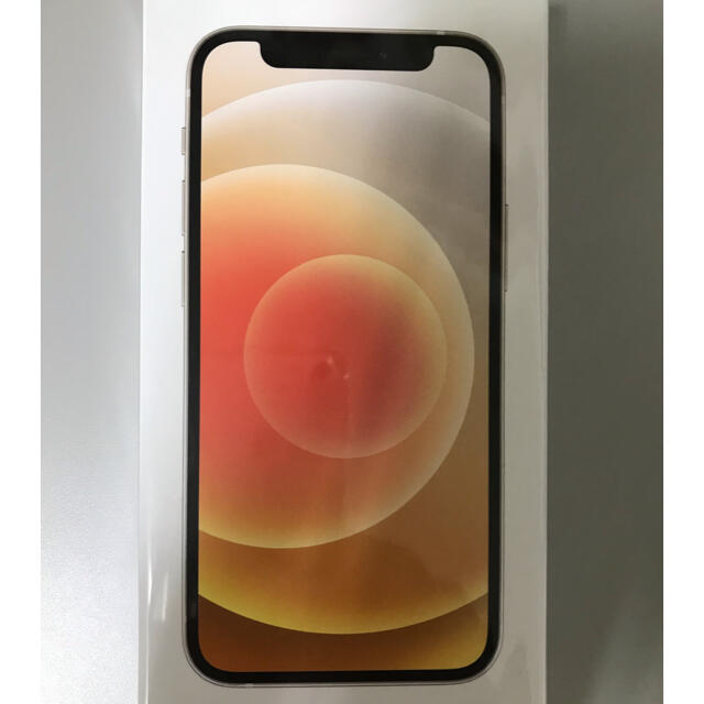 iPhone(アイフォーン)の最終値下げ! iPhone 12mini ホワイト simロック解除新品未開封 スマホ/家電/カメラのスマートフォン/携帯電話(スマートフォン本体)の商品写真
