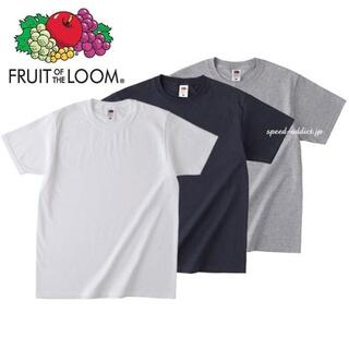 ヘインズ(Hanes)のフルーツオブザルーム 白黒グレー Tシャツ 3枚セット アメカジ パックt(Tシャツ/カットソー(半袖/袖なし))
