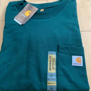 カーハート(carhartt)のcarhartt カーハート Tシャツ ハンターグリーン(Tシャツ/カットソー(半袖/袖なし))