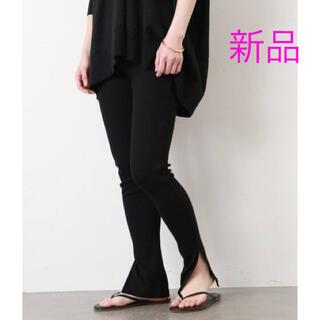 ドゥーズィエムクラス(DEUXIEME CLASSE)の新品 Deuxieme Classe leggings レギンス ブラック(レギンス/スパッツ)